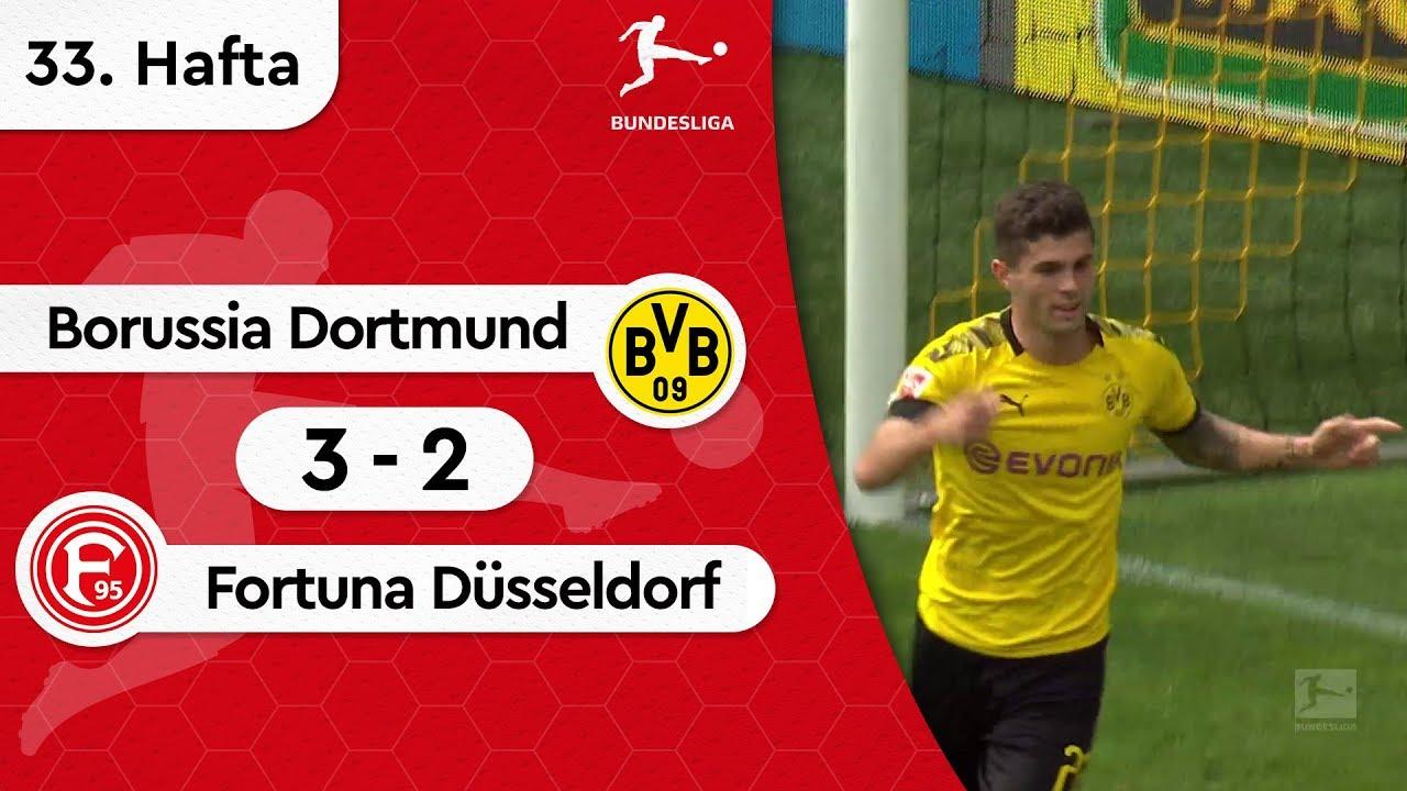 Borussia Dortmund - Fortuna Düsseldorf (3-2) - Maç Özeti - Bundesliga 2018/19