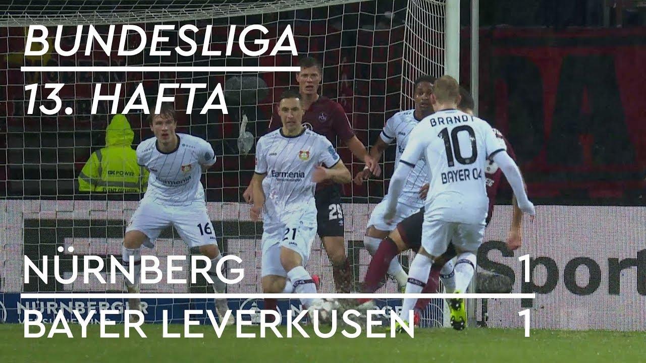 Nürnberg - Bayer Leverkusen (1-1) - Maç Özeti - Bundesliga 2018/19