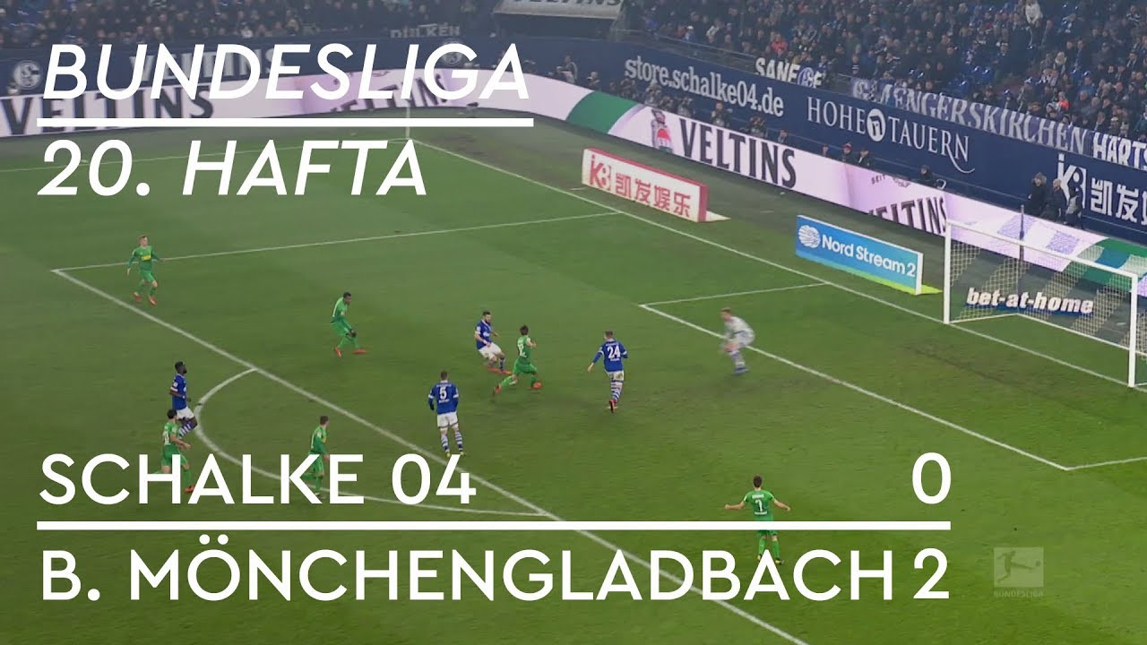 Schalke 04 - Borussia Mönchengladbach (0-2) - Maç Özeti - Bundesliga 2018/19 - Türkçe Anlatım
