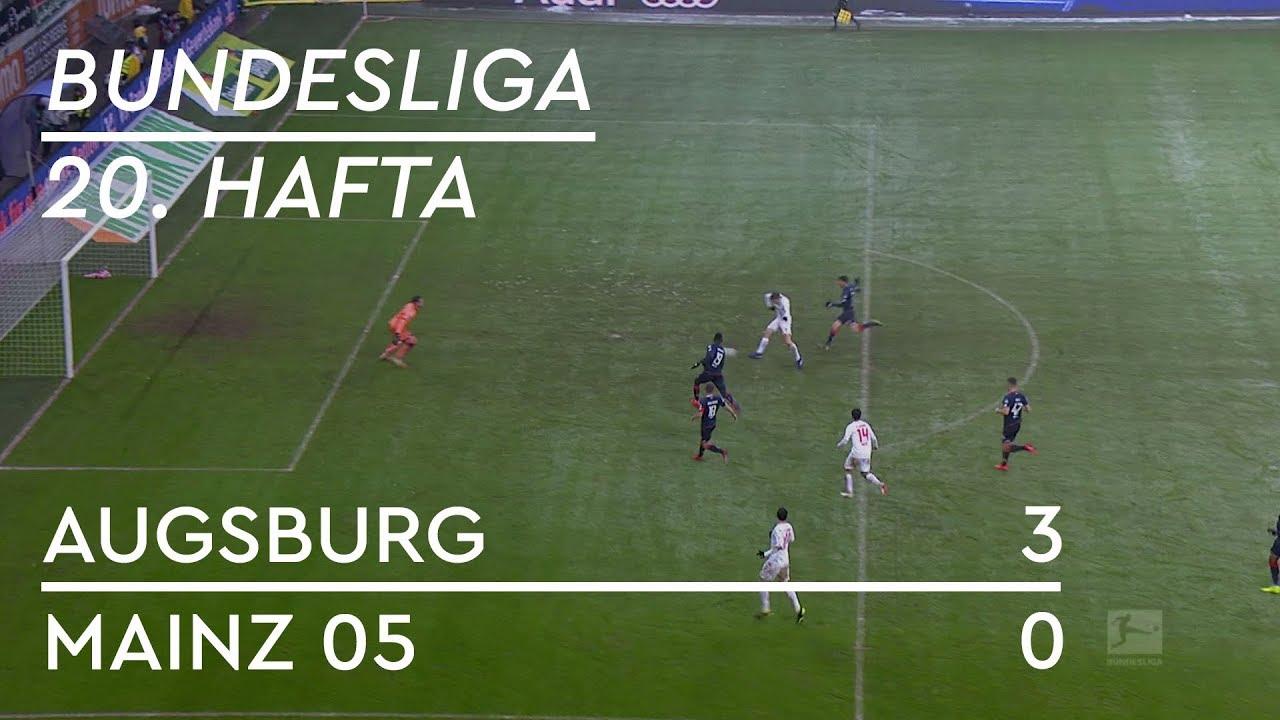 Augsburg - Mainz 05 (3-0) - Maç Özeti - Bundesliga 2018/19