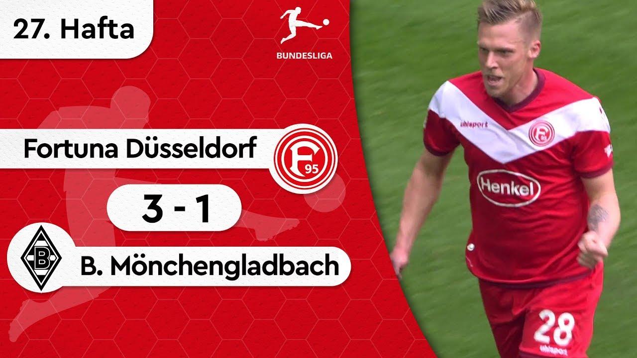 Fortuna Düsseldorf - Borussia Mönchengladbach (3-1) - Maç Özeti - Bundesliga 2018/19