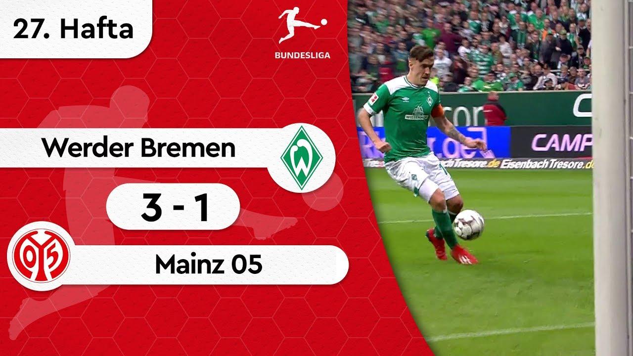 Werder Bremen - Mainz 05 (3-1) - Maç Özeti - Bundesliga 2018/19