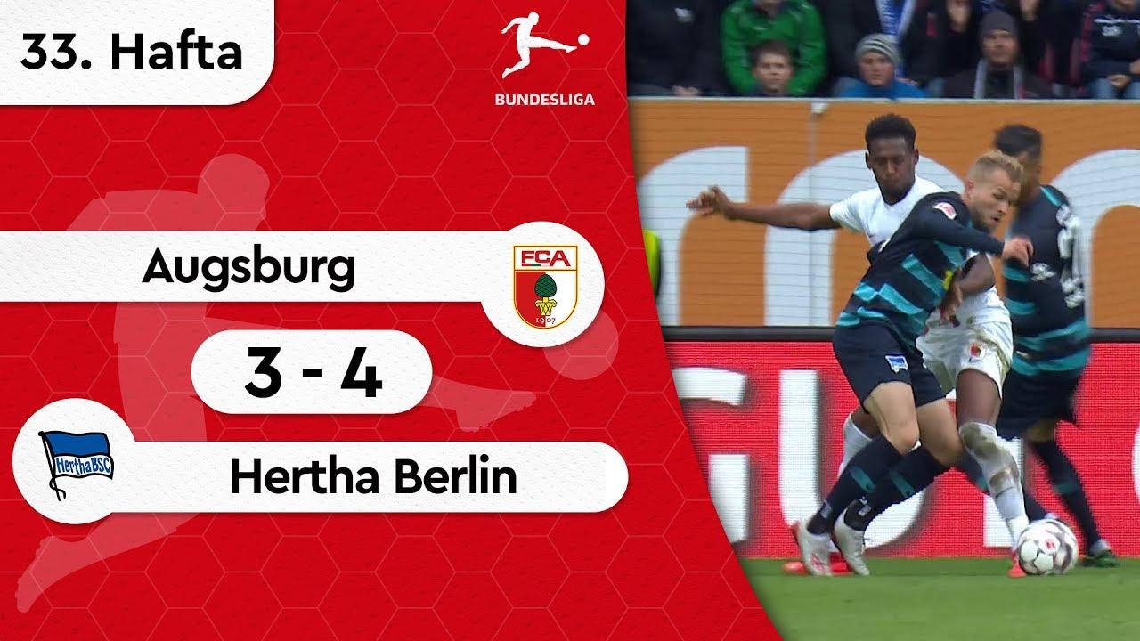 Augsburg - Hertha Berlin (3-4) - Maç Özeti - Bundesliga 2018/19
