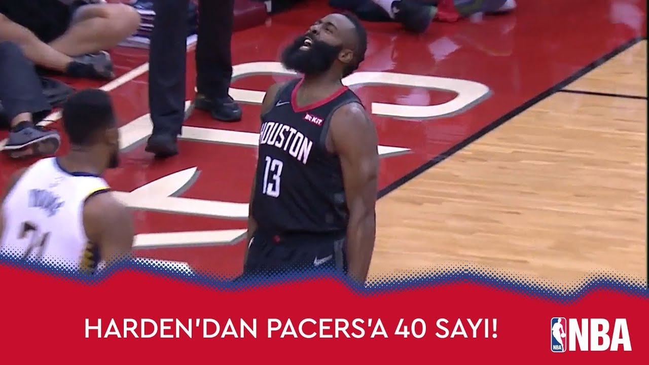 James Harden'dan Pacers'a 40 Sayı!