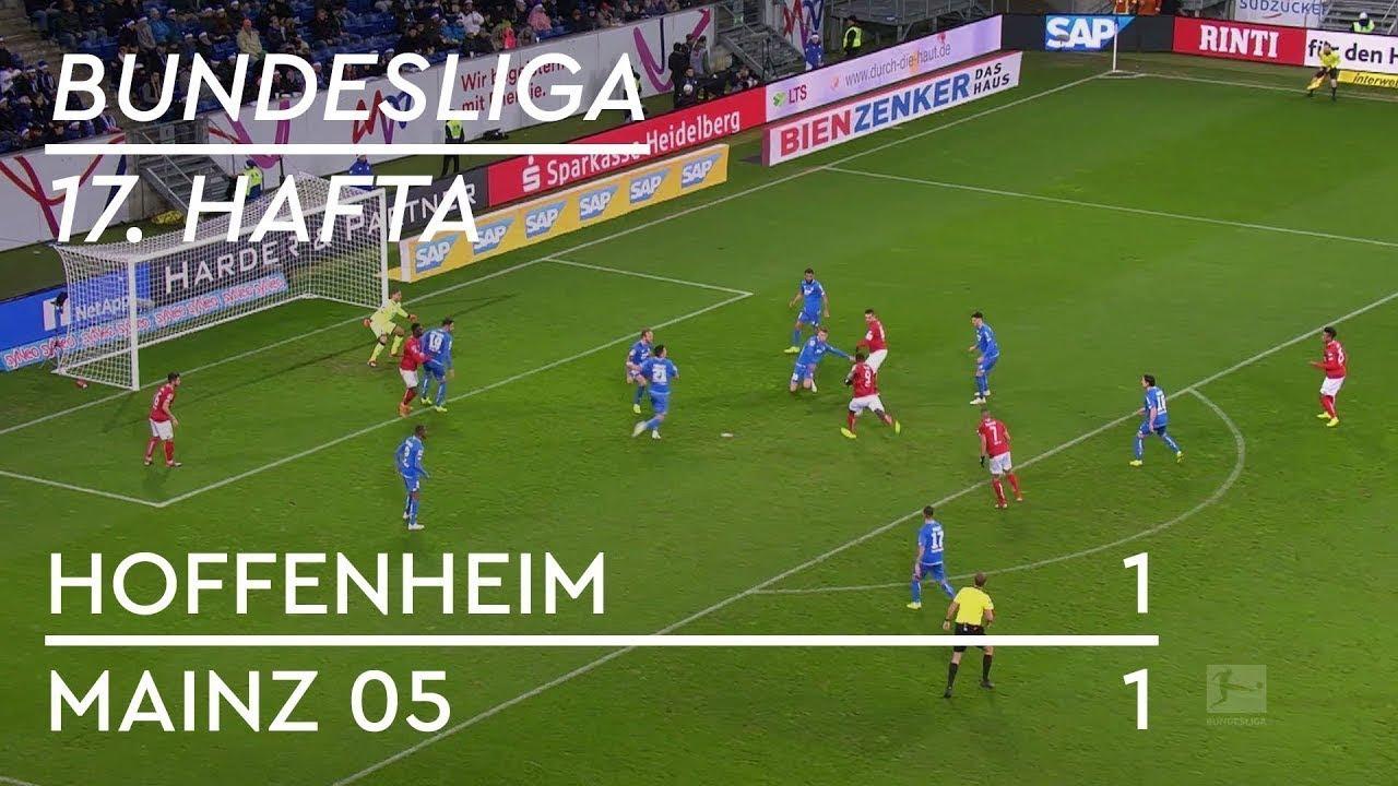 Hoffenheim - Mainz 05 (1-1) - Maç Özeti - Bundesliga 2018/19 - Türkçe Anlatım