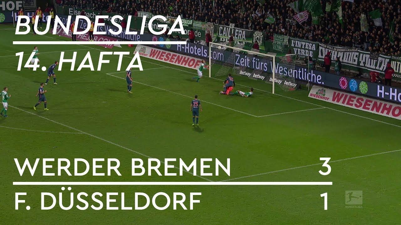 Werder Bremen - Fortuna Düsseldorf (3-1) - Maç Özeti - Bundesliga 2018/19 - Türkçe Anlatım