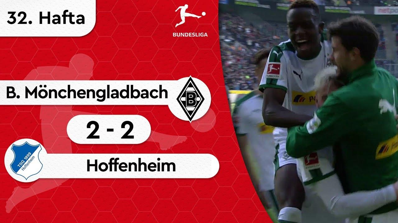 Borussia Mönchengladbach - Hoffenheim (2-2) - Maç Özeti - Bundesliga 2018/19