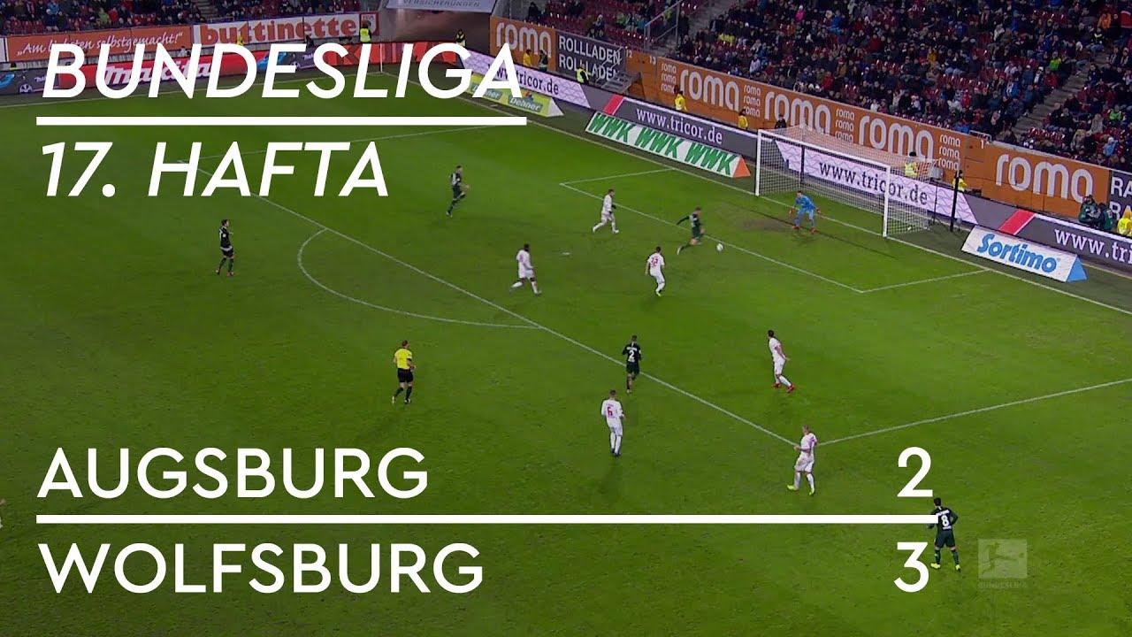 Augsburg - Wolfsburg (2-3) - Maç Özeti - Bundesliga 2018/19
