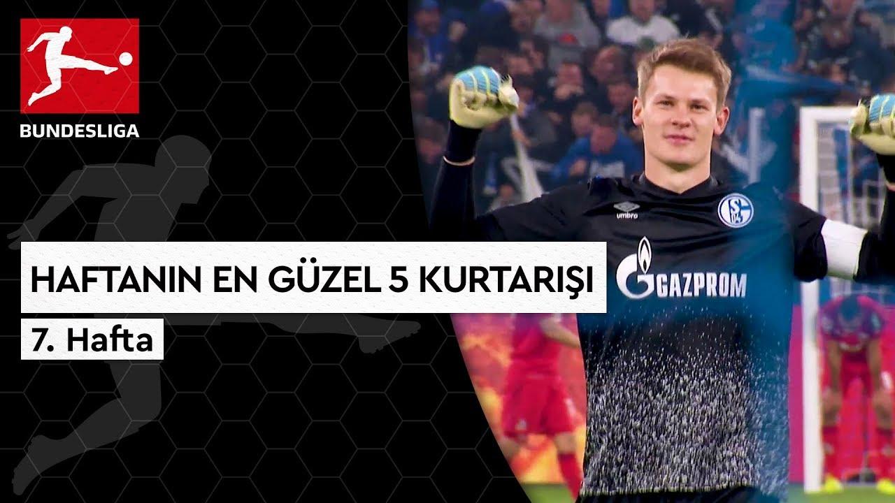 Bundesliga'da 7. Haftanın En Güzel 5 Kurtarışı (2019/20)