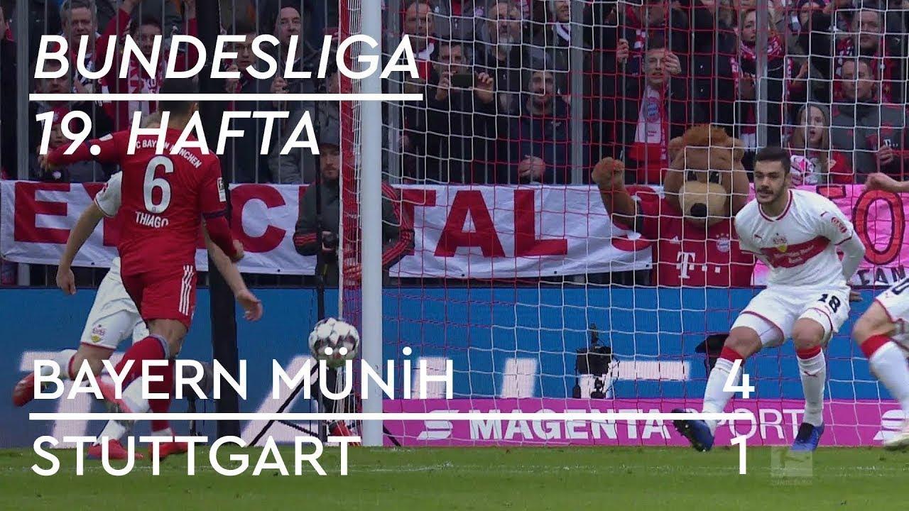 Bayern Münih - Stuttgart (4-1) - Maç Özeti - Bundesliga 2018/19 - Türkçe Anlatım