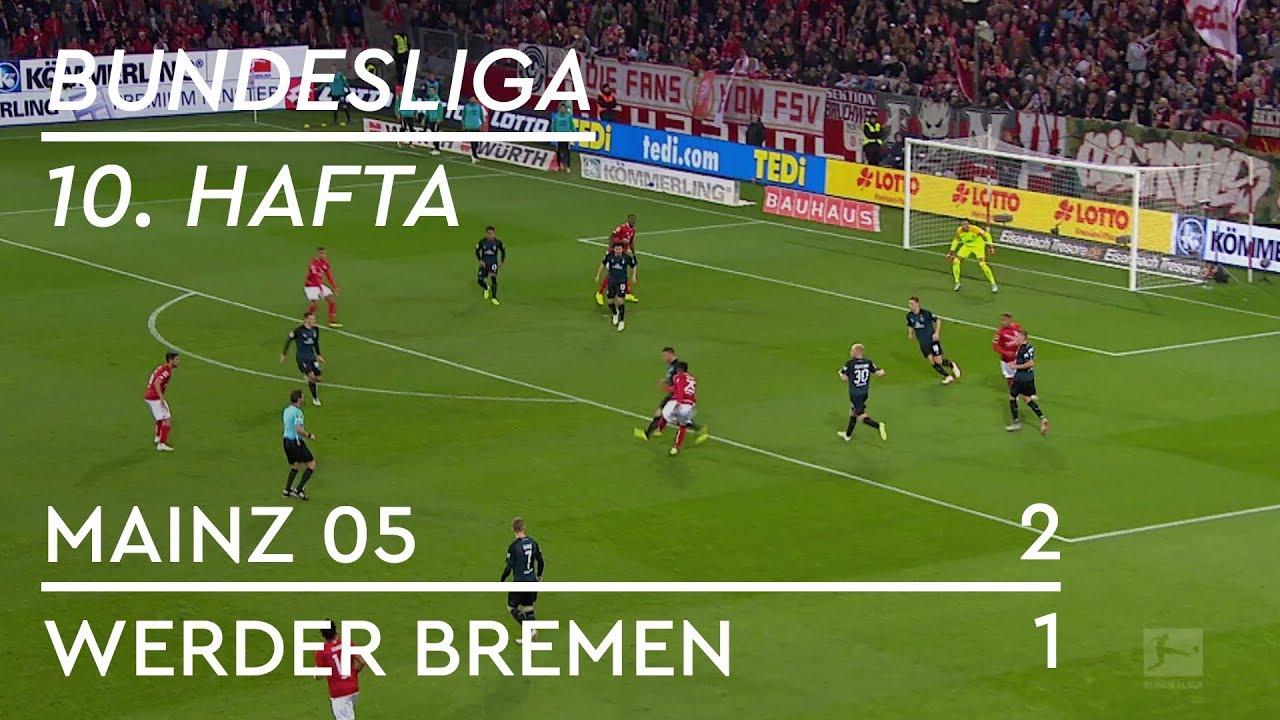 Mainz 05 - Werder Bremen (2-1) - Maç Özeti - Bundesliga 2018/19