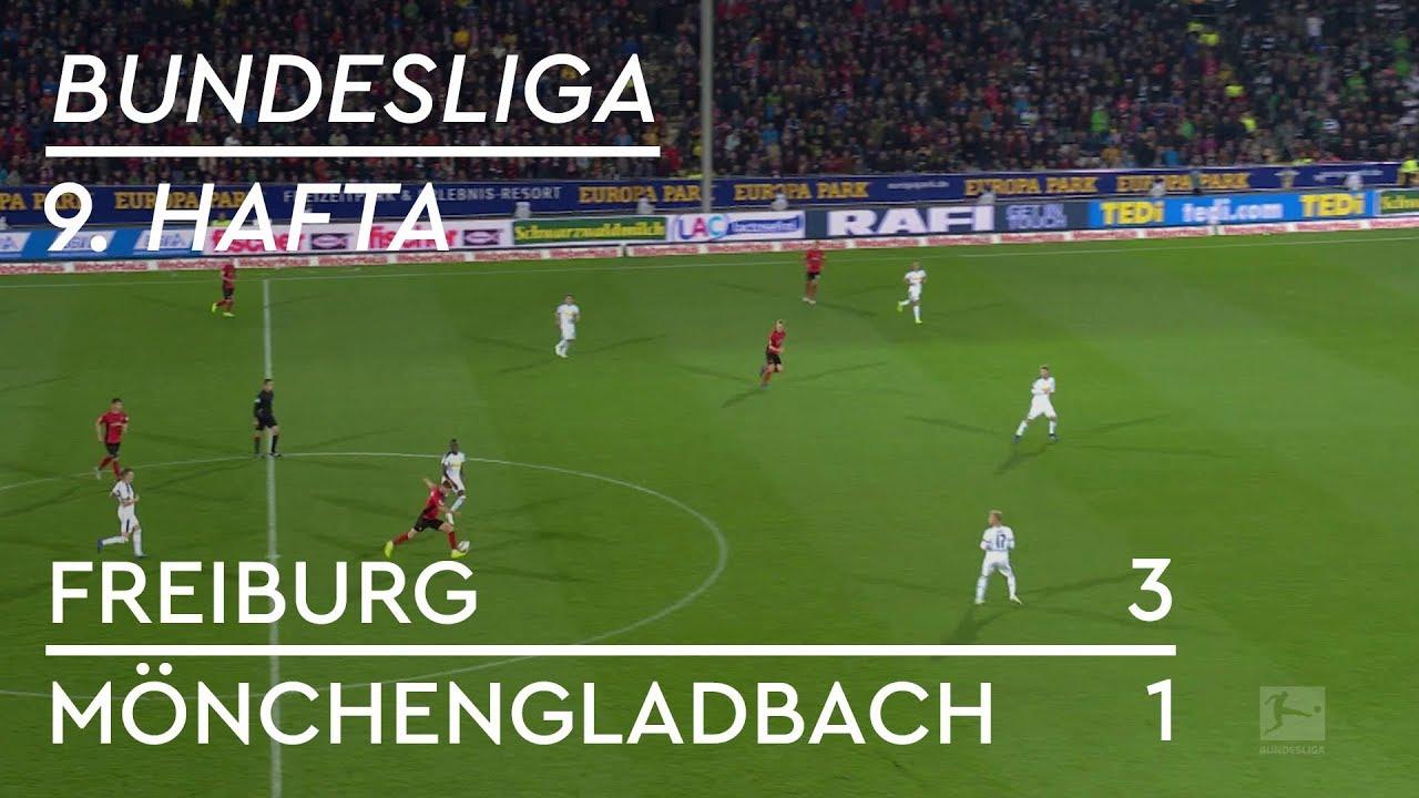 Freiburg - Mönchengladbach (3-1) - Maç Özeti - Bundesliga 2018/19