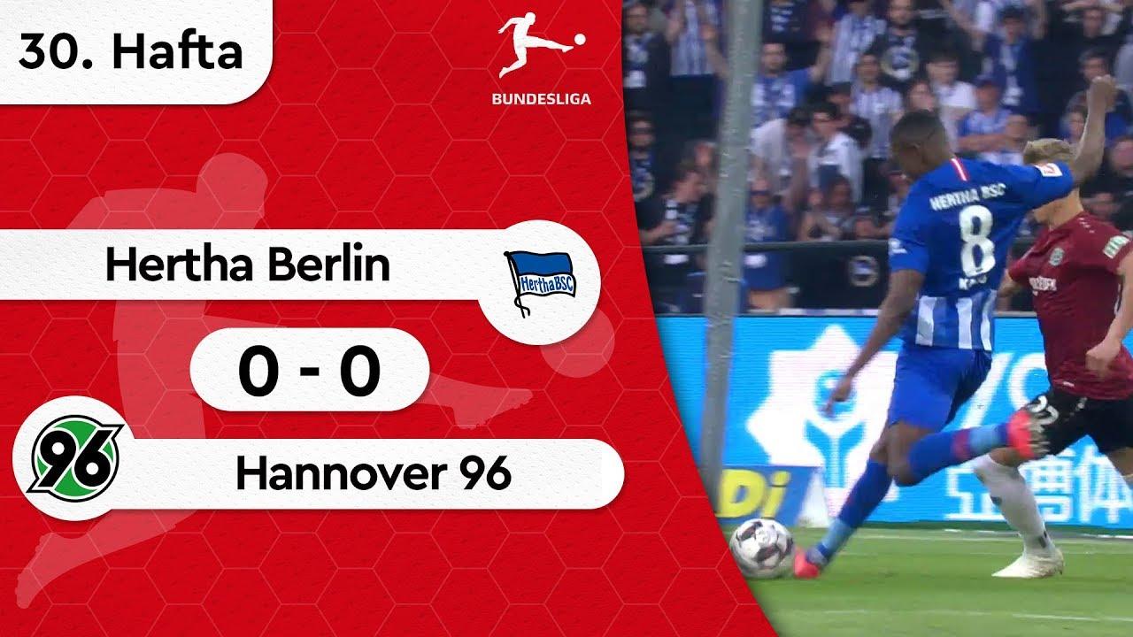 Hertha Berlin - Hannover 96 (0-0) - Maç Özeti - Bundesliga 2018/19