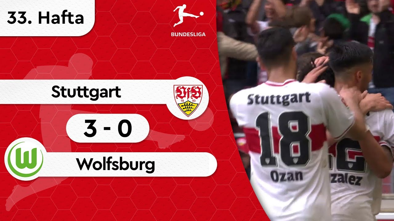 Stuttgart - Wolfsburg (3-0) - Maç Özeti - Bundesliga 2018/19