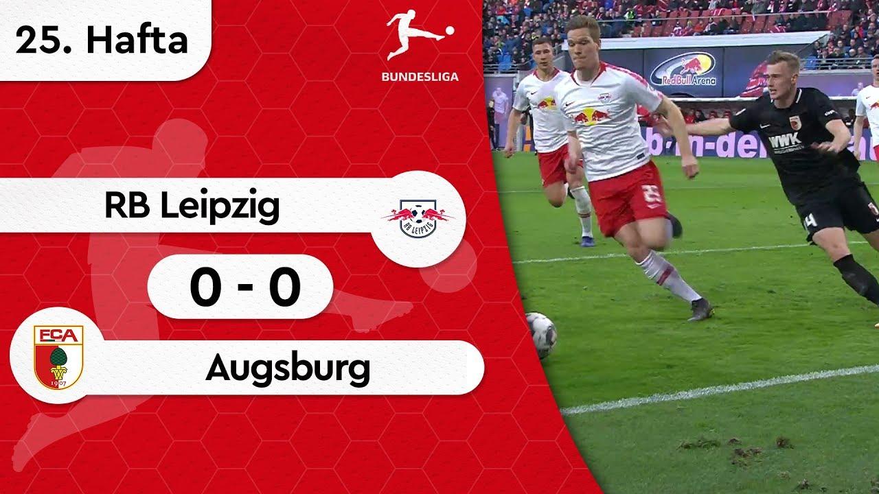 RB Leipzig - Augsburg (0-0) - Maç Özeti - Bundesliga 2018/19