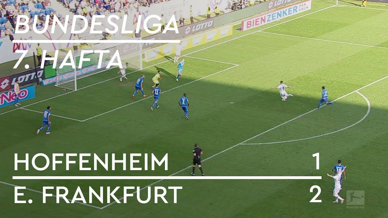 Hoffenheim - Eintracht Frankfurt (1-2) - Maç Özeti - Bundesliga 2018/19