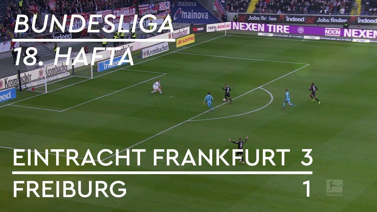 Eintracht Frankfurt - Freiburg (3-1) - Maç Özeti - Bundesliga 2018/19 - Türkçe Anlatım
