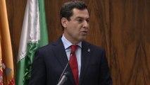 Moreno quiere que Andalucía sea un referente en la atención sanitaria