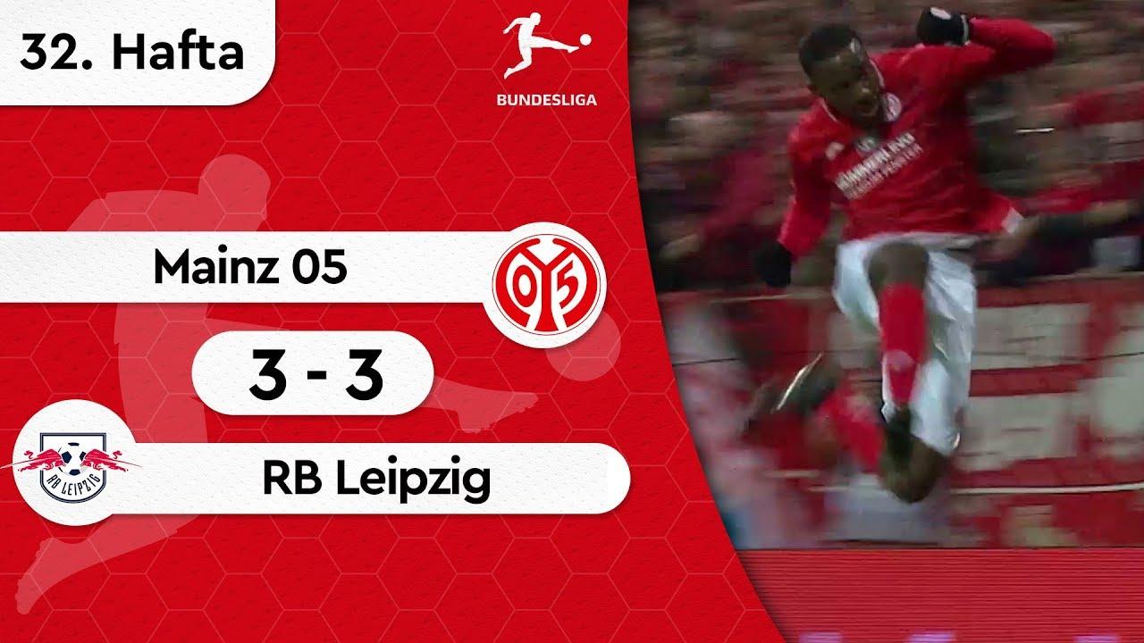 Mainz 05 - RB Leipzig (3-3) - Maç Özeti - Bundesliga 2018/19