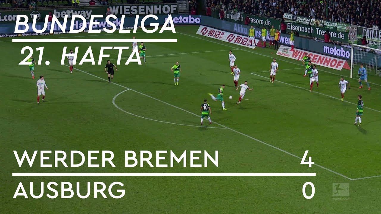 Werder Bremen -  Augsburg (4-0) - Maç Özeti - Bundesliga 2018/19 - Türkçe Anlatım
