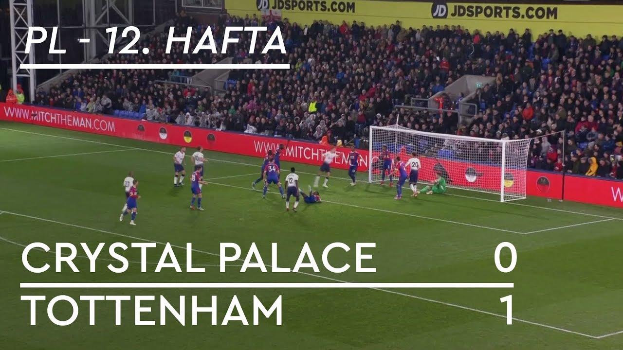 Crystal Palace - Tottenham Hotspur (0-1) - Maç Özeti - Premier League 2018/19