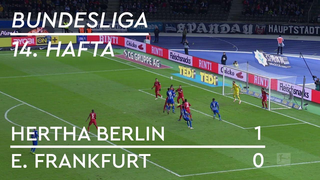Hertha Berlin - Eintracht Frankfurt (1-0) - Maç Özeti - Bundesliga 2018/19
