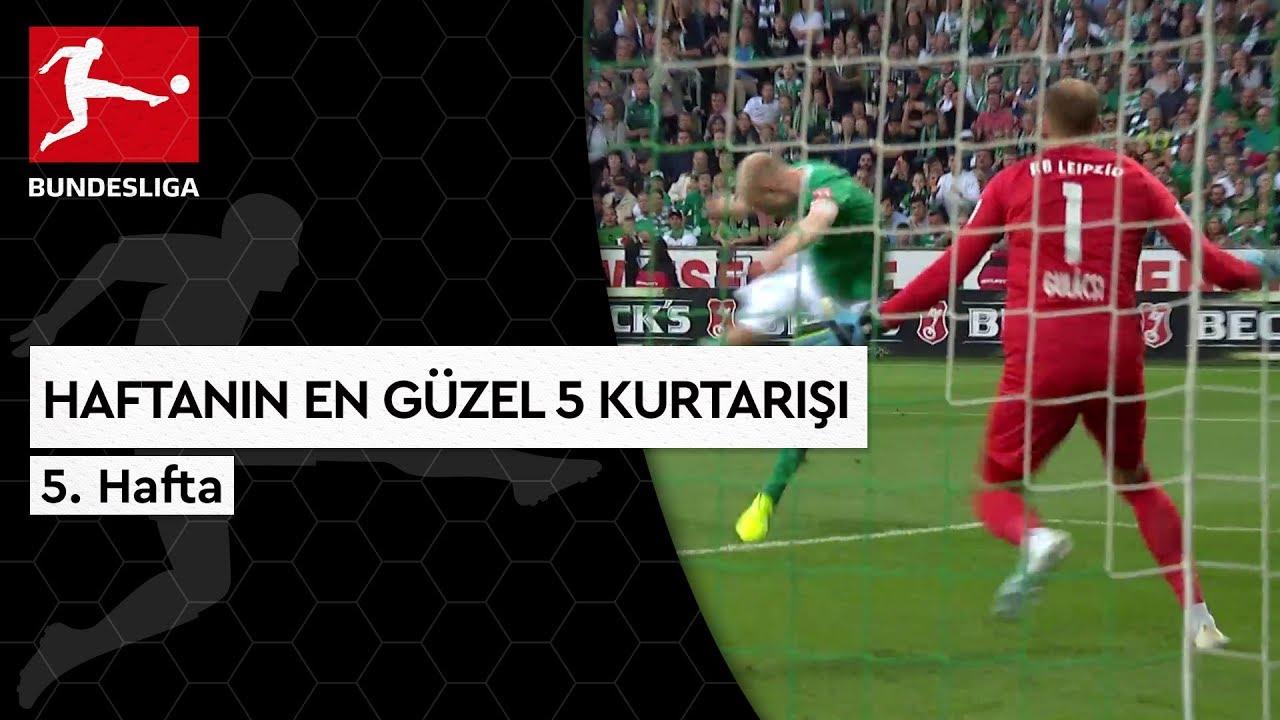 Bundesliga'da 5. Haftanın En Güzel 5 Kurtarışı (2019/20)