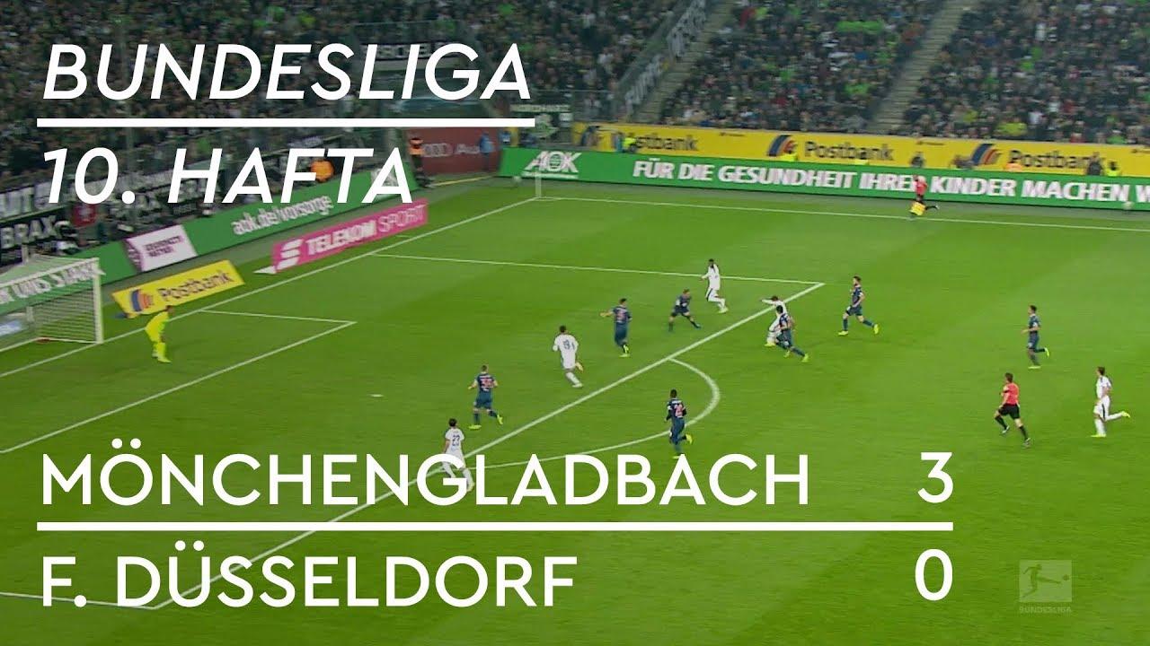 Borussia Mönchengladbach - Fortuna Düsseldorf (3-0) - Maç Özeti - Bundesliga 2018/19
