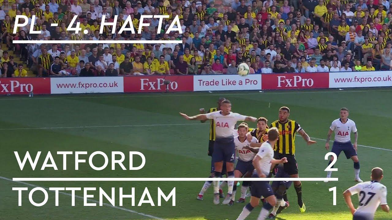 Watford - Tottenham (2-1) - Maç Özeti - Premier League 2018/19