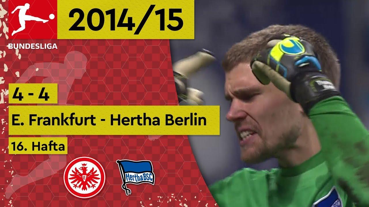 Eintracht Frankfurt - Hertha Berlin (4-4) - Maç Özeti - Bundesliga 2014/15