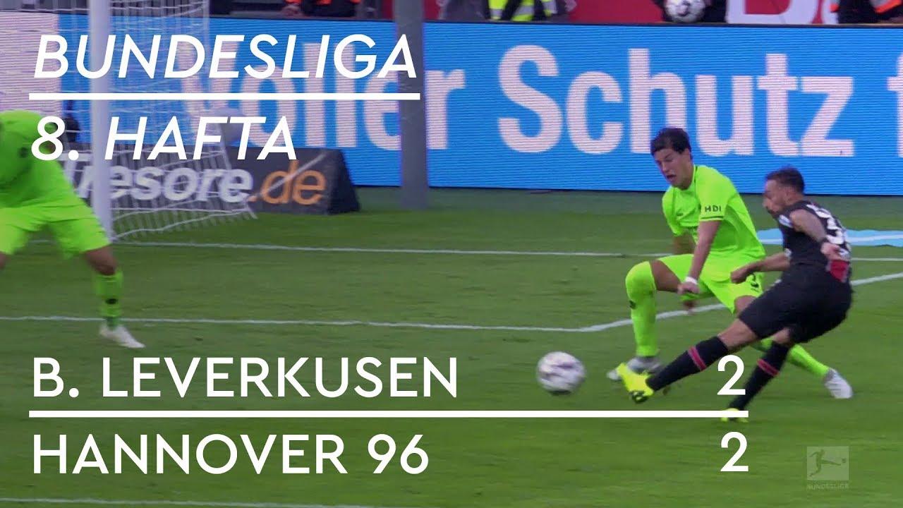 Bayer Leverkusen - Hannover 96 (2-2) - Maç Özeti - Bundesliga 2018/19