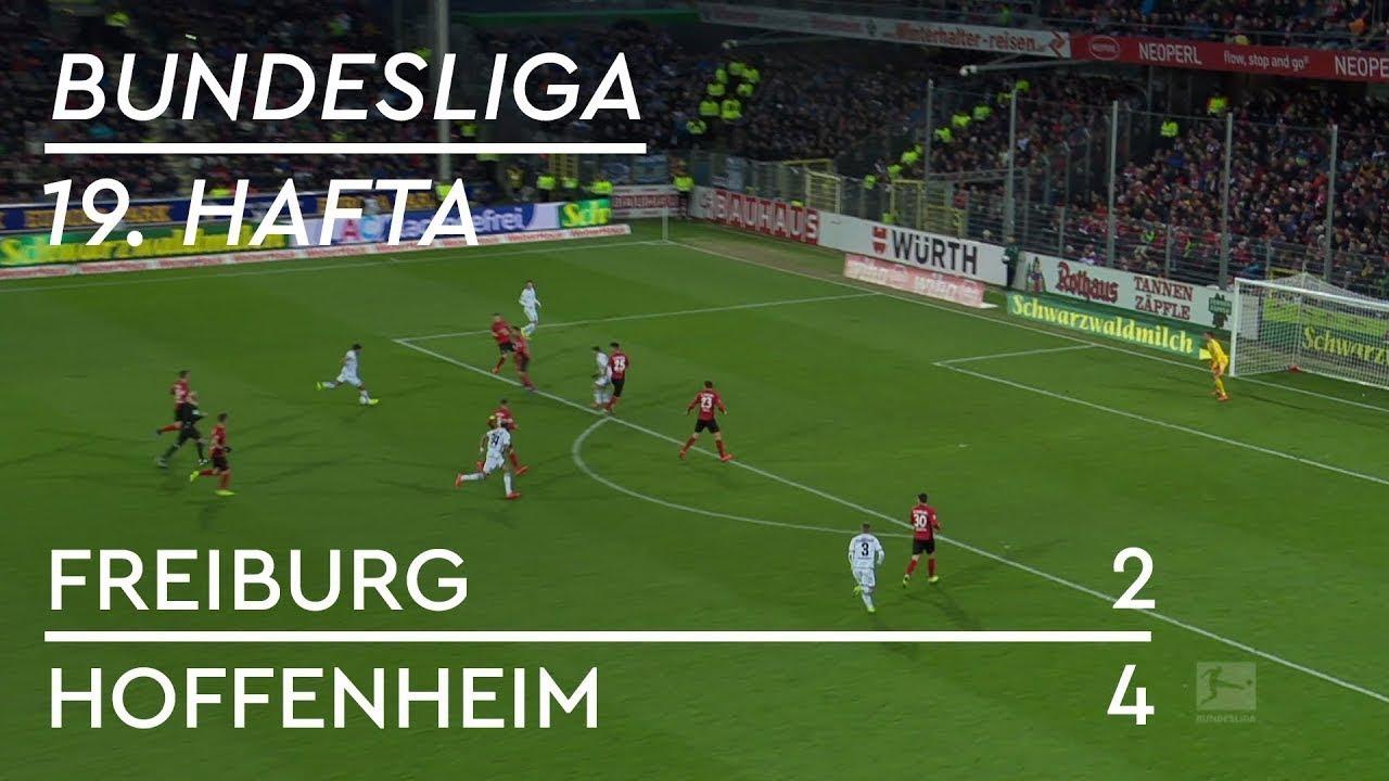 Freiburg - Hoffenheim (2-4) - Maç Özeti - Bundesliga 2018/19 - Türkçe Anlatım