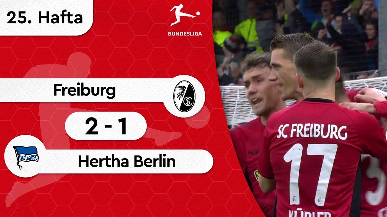 Freiburg - Hertha Berlin (2-1) - Maç Özeti - Bundesliga 2018/19