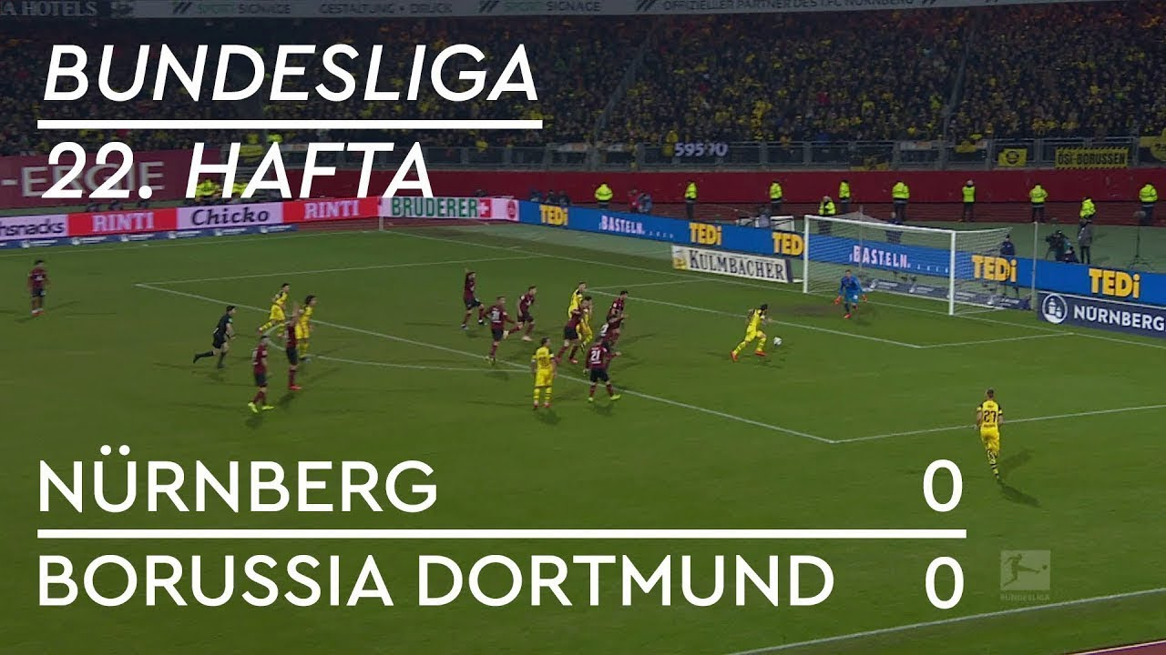 Nürnberg  - Borussia Dortmund (0-0) - Maç Özeti - Bundesliga 2018/19 - Türkçe Anlatım