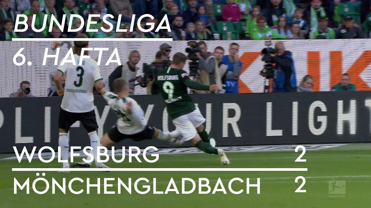 Wolfsburg - Mönchengladbach (2-2) - Maç Özeti - Bundesliga 2018/19