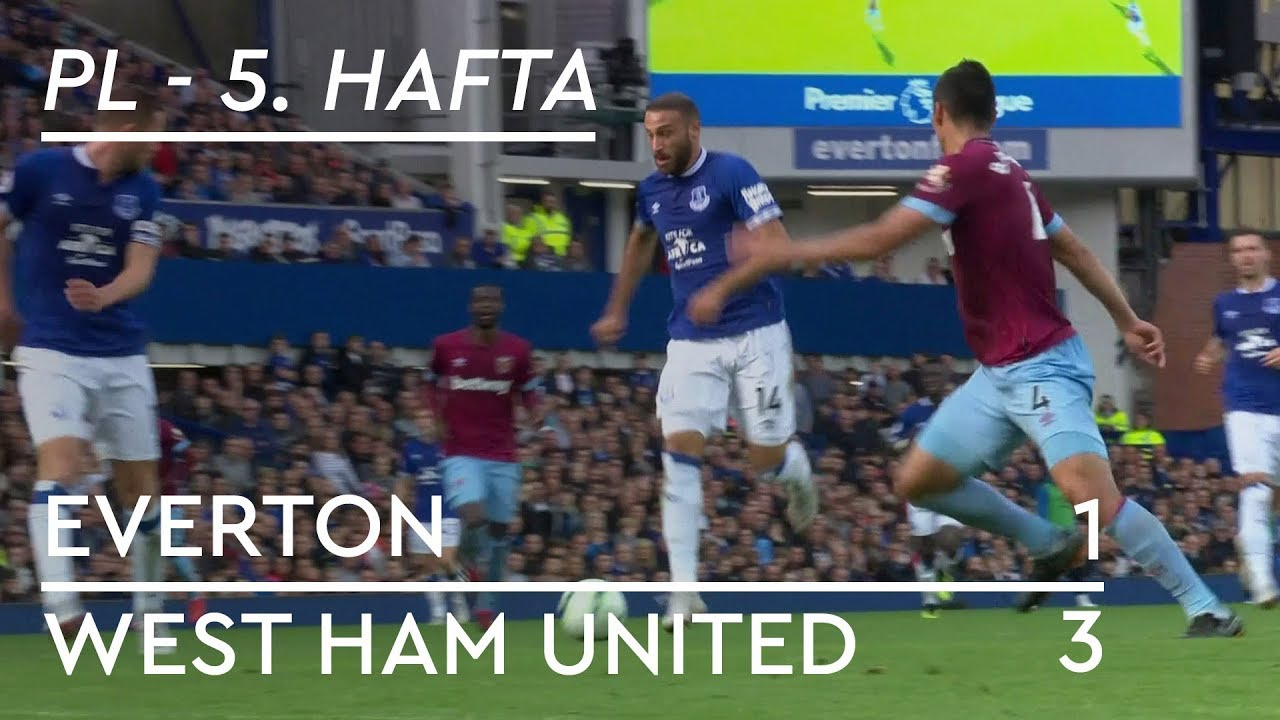 Everton - West Ham (1-3) - Maç Özeti - Premier League 2018/19