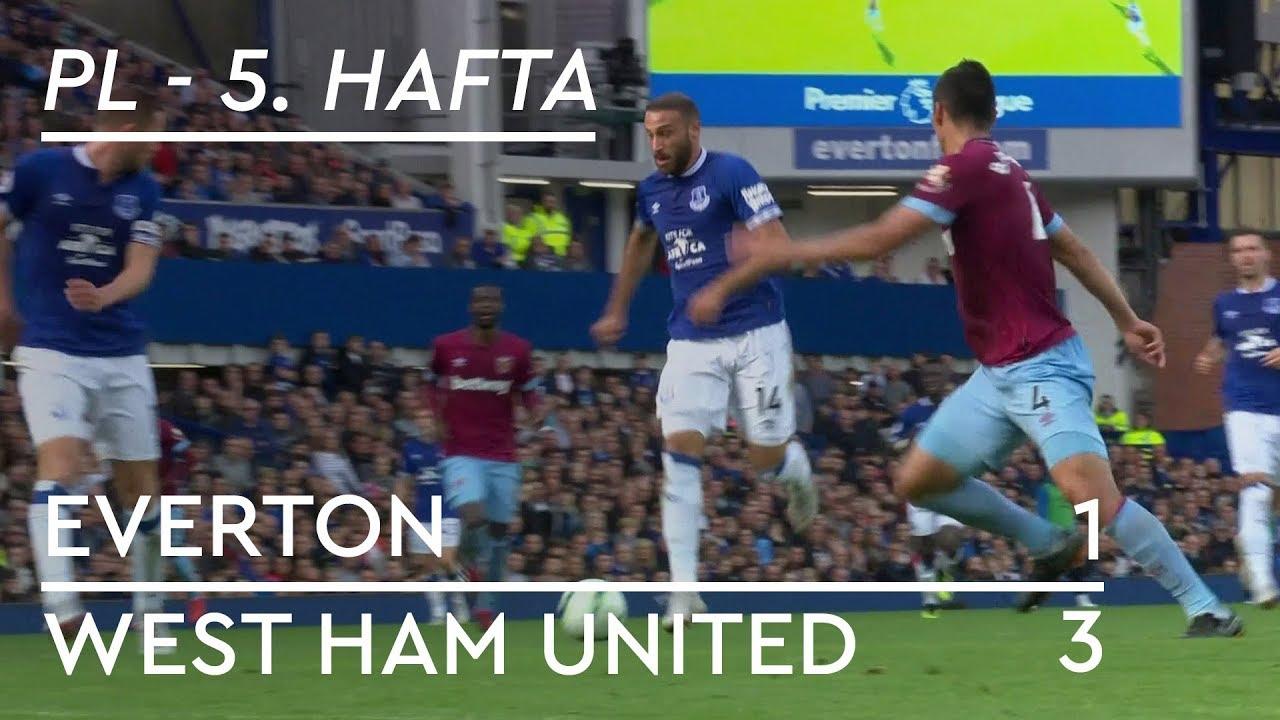 Everton - West Ham (1-3) - Maç Özeti - Premier League 2018/19