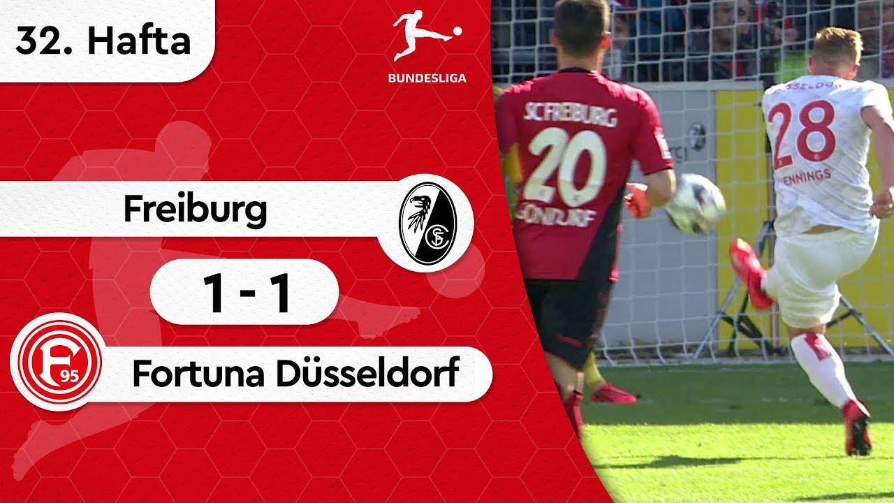 Freiburg - Fortuna Düsseldorf (1-1) - Maç Özeti - Bundesliga 2018/19