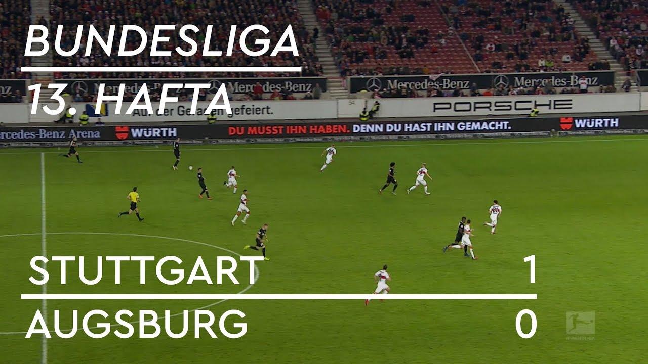 Stuttgart - Augsburg (1-0) - Maç Özeti - Bundesliga 2018/19