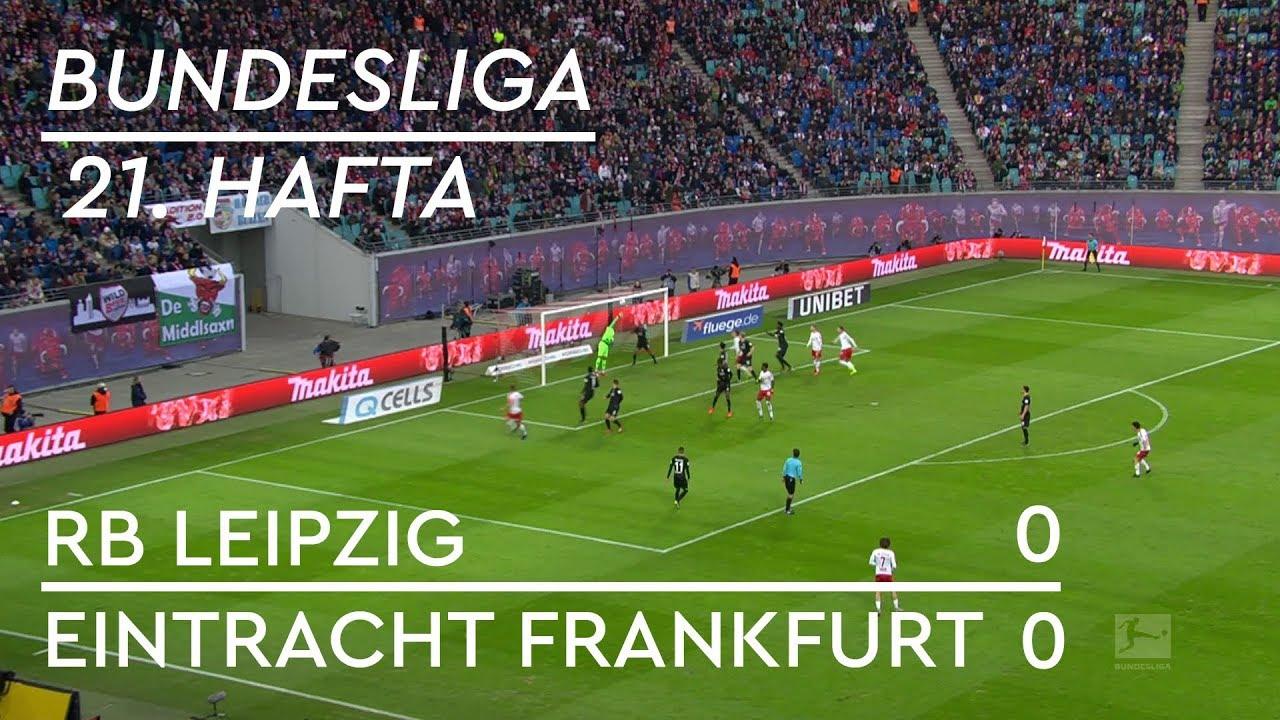RB Leipzig - Eintracht Frankfurt (0-0) - Maç Özeti - Bundesliga 2018/19