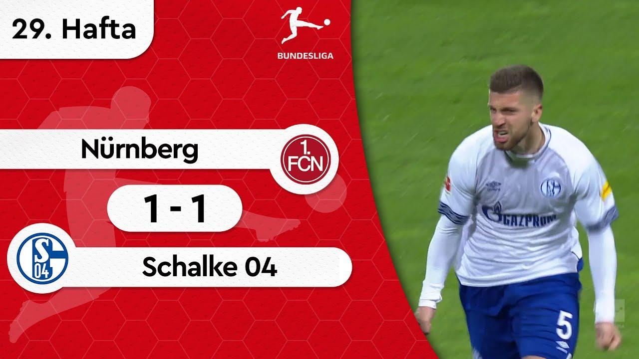 Nürnberg - Schalke 04 (1-1) - Maç Özeti - Bundesliga 2018/19