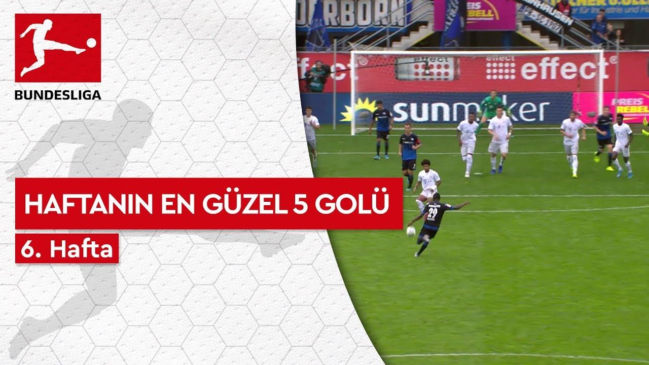 Bundesliga'da 6. Haftanın En Güzel 5 Golü (2019/20)