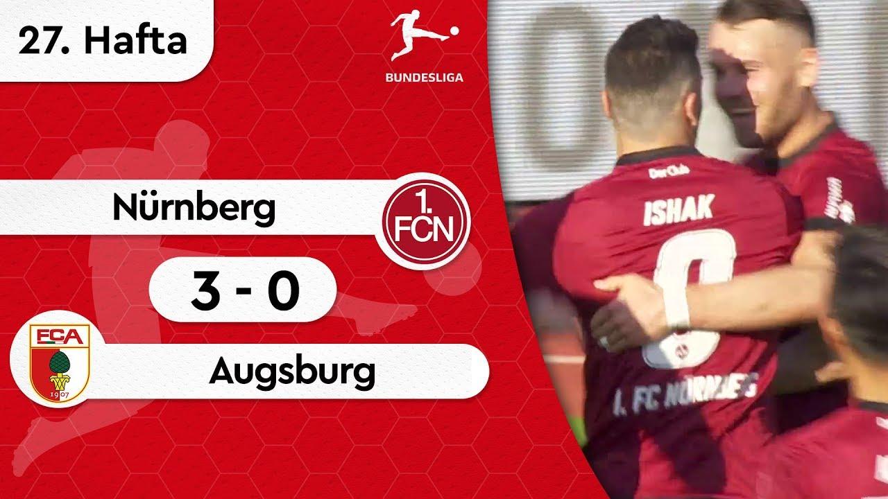 Nürnberg - Augsburg (3-0) - Maç Özeti - Bundesliga 2018/19