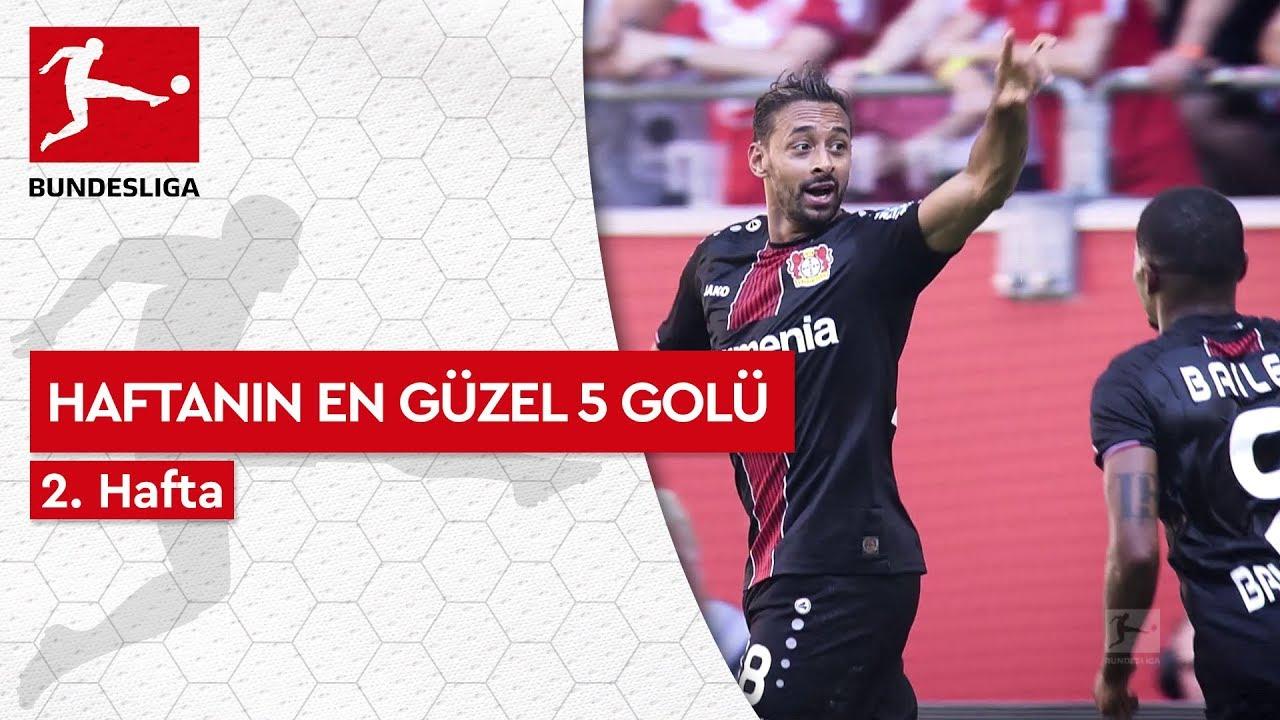 Bundesliga'da 2. Haftanın En Güzel 5 Golü (2019/20)