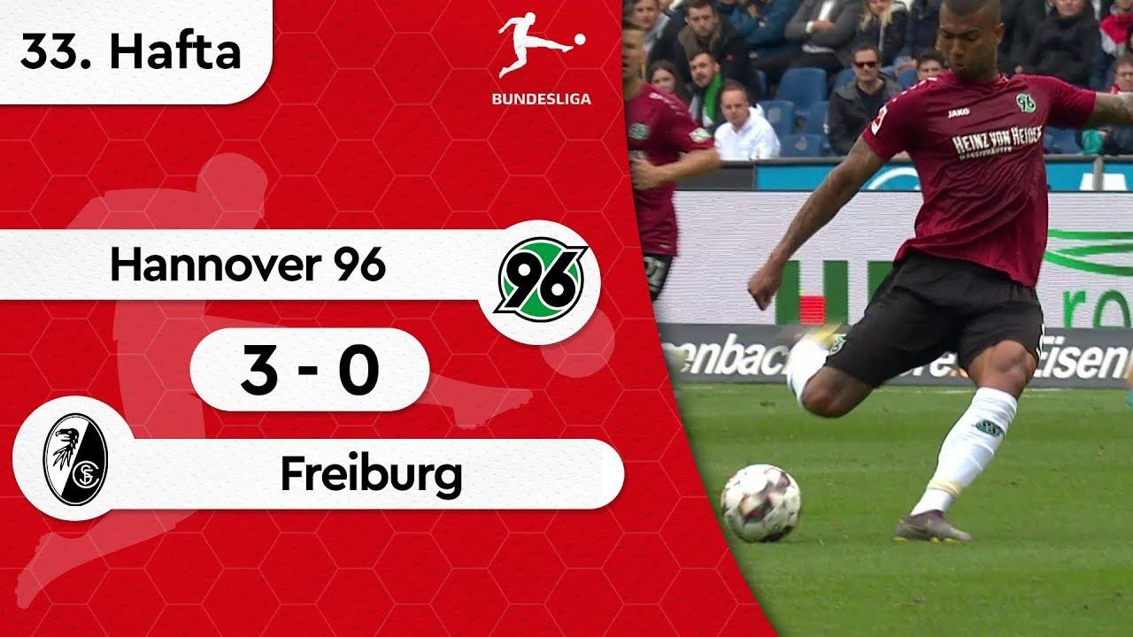 Hannover 96 - Freiburg (3-0) - Maç Özeti - Bundesliga 2018/19