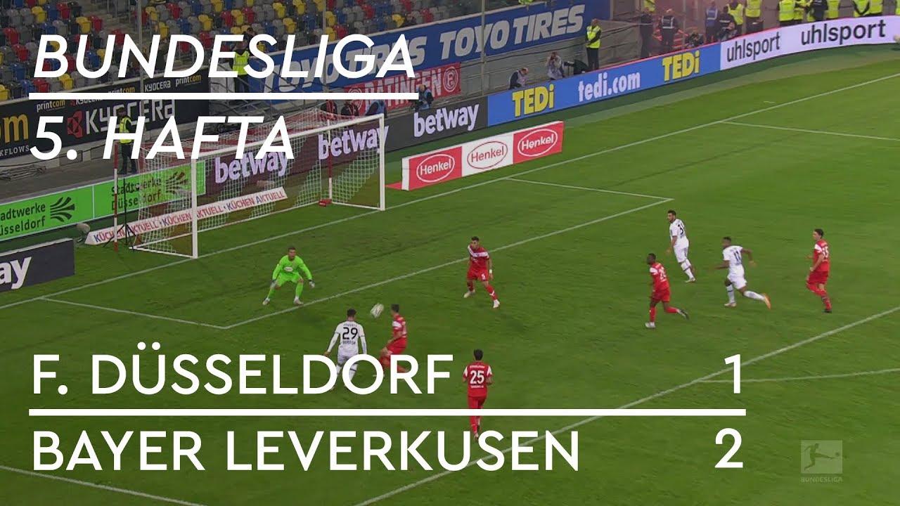 Fortuna Düsseldorf - Bayer Leverkusen (1-2) - Maç Özeti - Bundesliga 2018/19