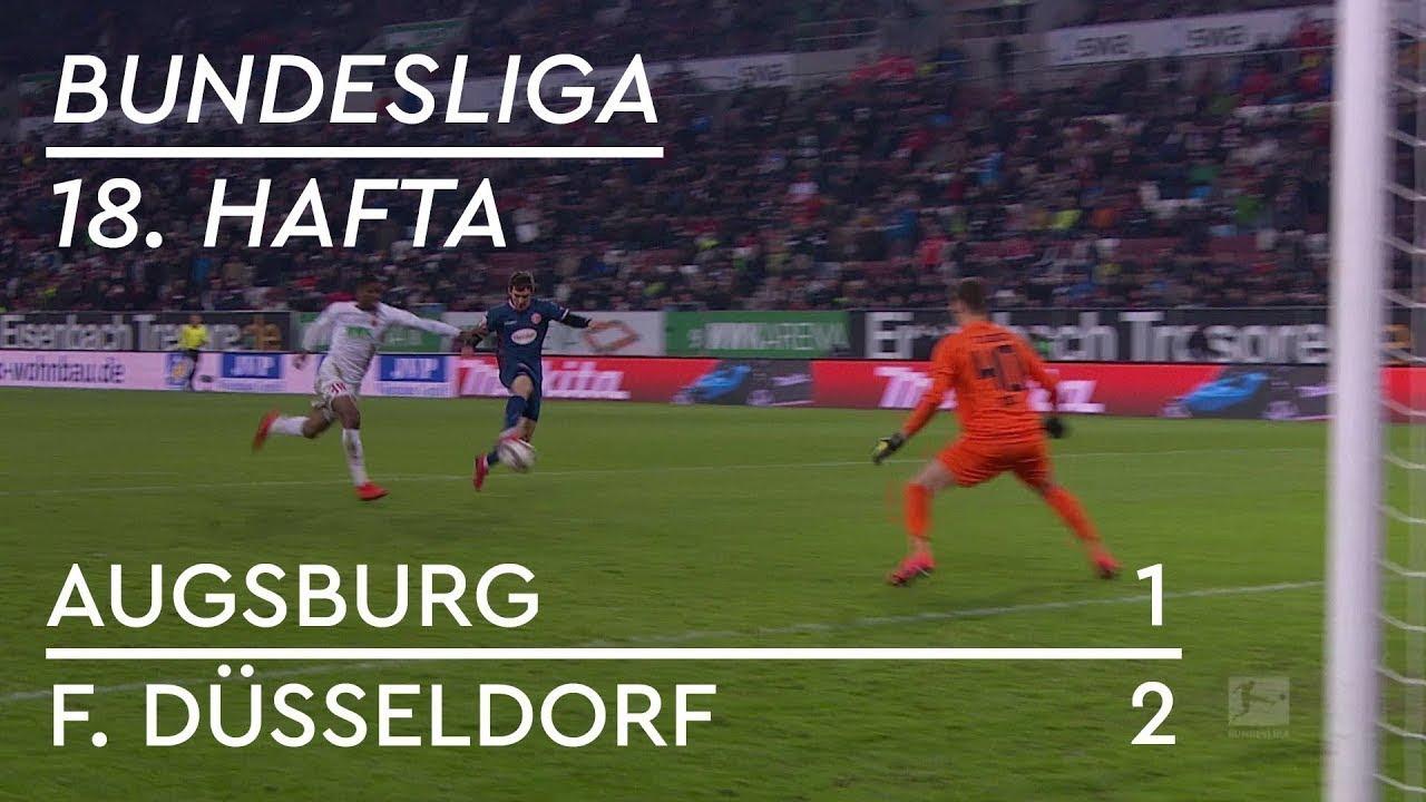 Augsburg - Fortuna Düsseldorf (1-2) - Maç Özeti - Bundesliga 2018/19 - Türkçe Anlatım