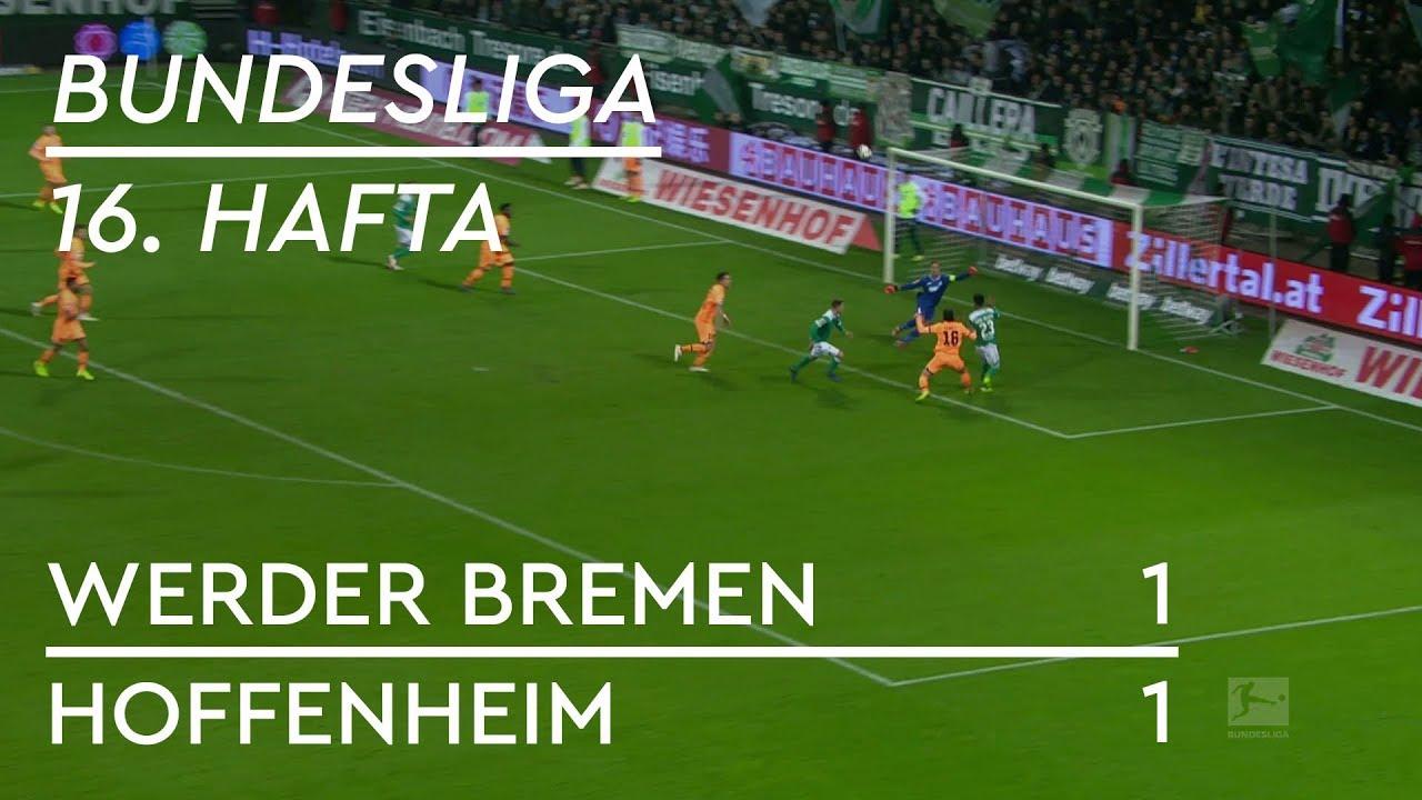 Werder Bremen - Hoffenheim (1-1) - Maç Özeti - Bundesliga 2018/19 - Türkçe Anlatım