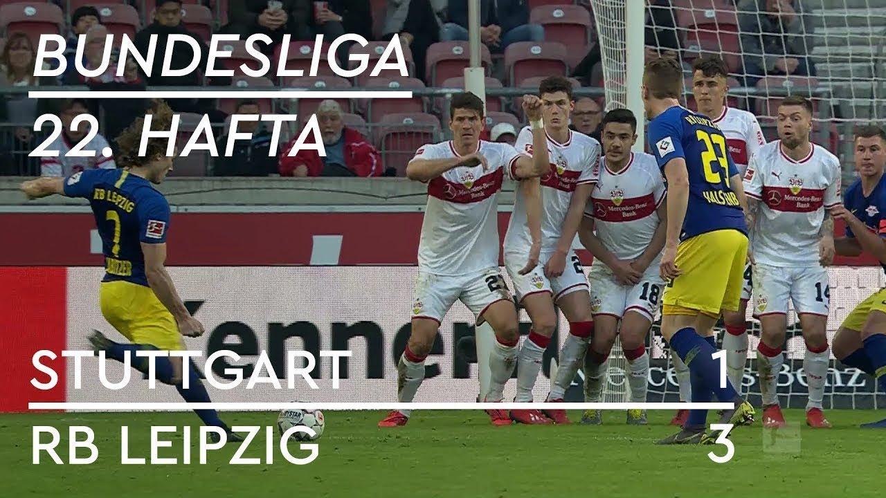 Stuttgart - RB Leipzig (1-3) - Maç Özeti - Bundesliga 2018/19 - Türkçe Anlatım