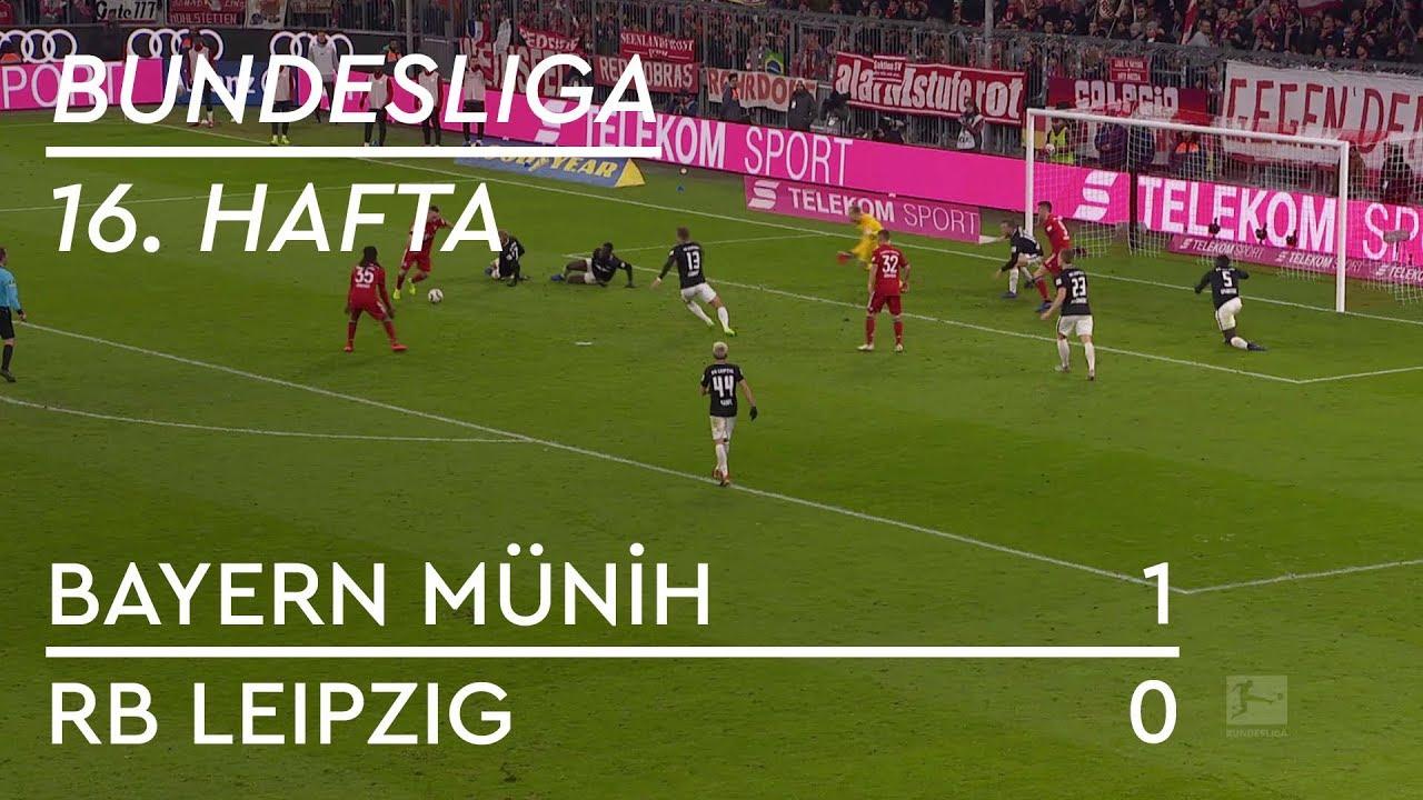Bayern Münih - RB Leipzig (1-0) - Maç Özeti - Bundesliga 2018/19 - Türkçe Anlatım